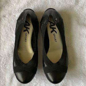 Anne Klein Sport Black Ballet Flat